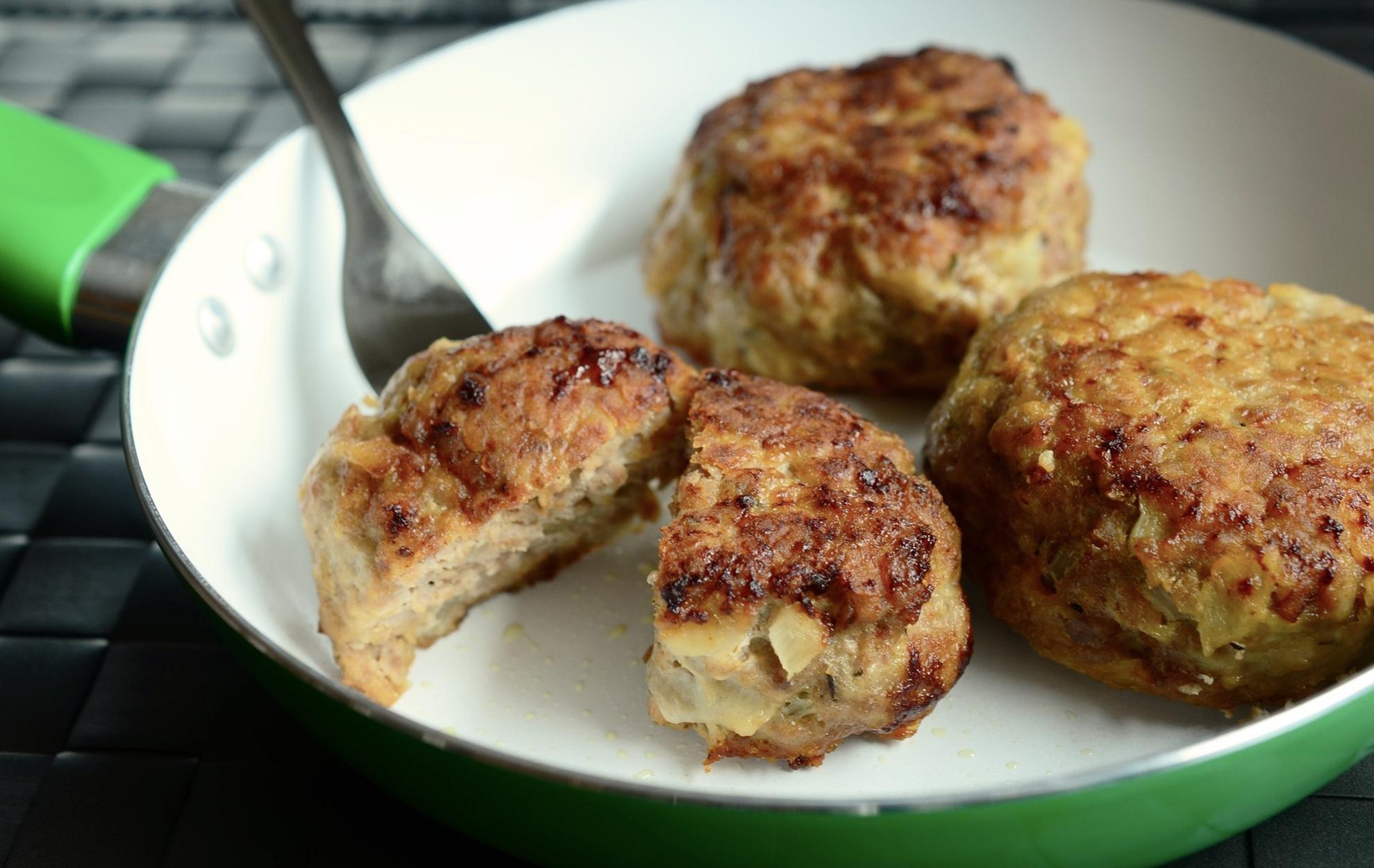 Turkey-veggie meatballs