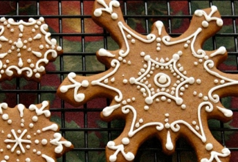 Fitness gingerbread cookie