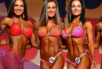 Alexandra Kocsis, 1st place at the Arnold Classic Columbus