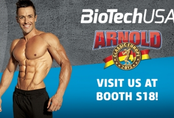 BioTechUSA heads to Madrid for the Arnold Classic 2015
