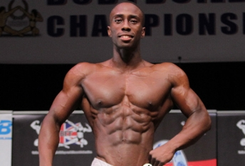 Taeo Robinson: 2015 Men's Physique East of England Champion!