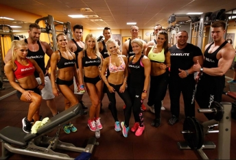 Team BioTechUSA workout in Cologne