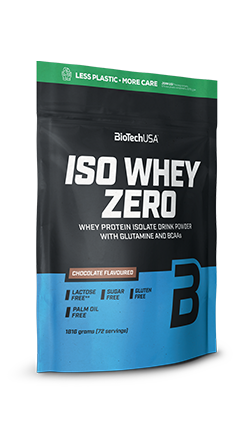 Iso Whey Zero - in a packaging made with less plastic